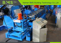 Shelf Support Pillar Steel Frame Roll Forming Machine For Supermarket Or Warehouse