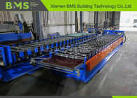 0.8mm Color Steel Roof Panel Machine With 5T Manual Decoiler