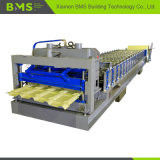 Industrial Steel Glazed Roof Tile Roll Forming Machine 7800*1500*1600mm